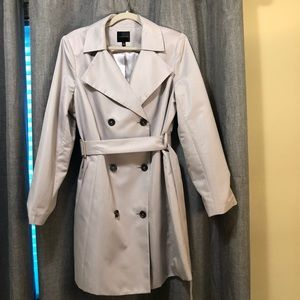 The Limited Trench Coat Taupe/Beige - Size XL
